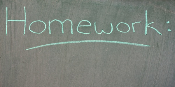 When to do homework in college